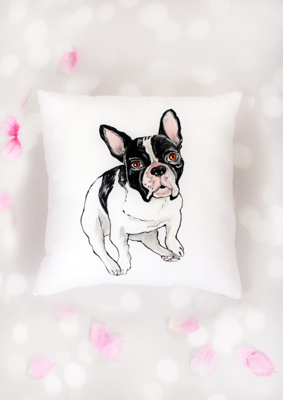 FRENCH BULLDOG CUSHION-1