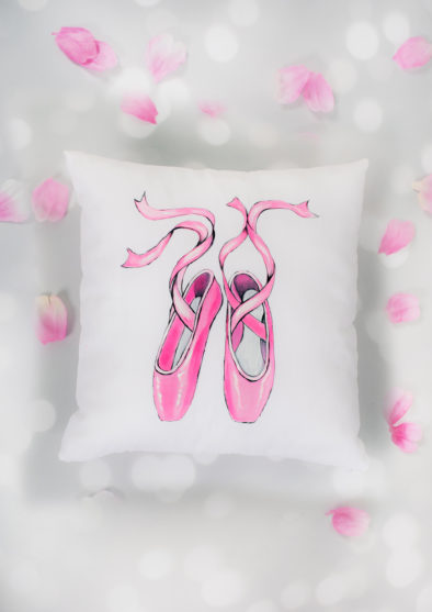 BALLET SHOES CUSHION