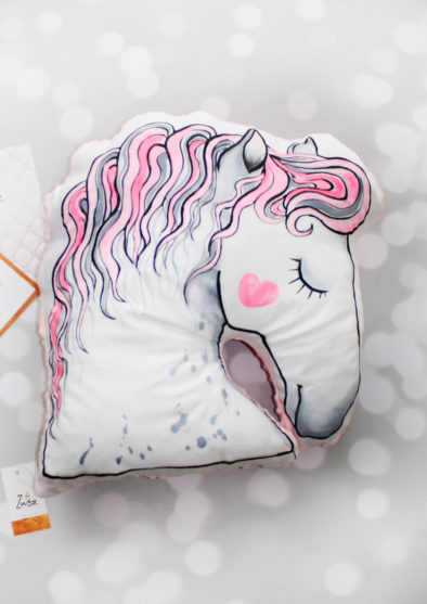 HORSE HEAD CUSHION XXL